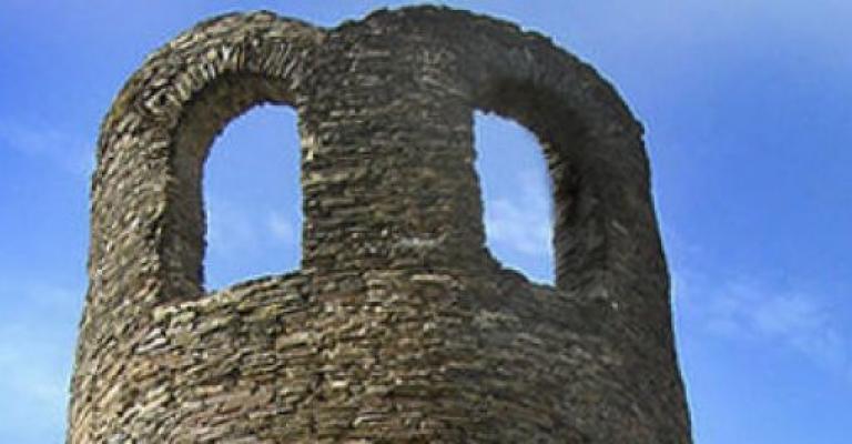 Fotografía de Galicia: Detalle de la muralla romana
