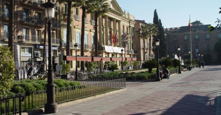 Fotografía de Murcia: Glorieta de España
