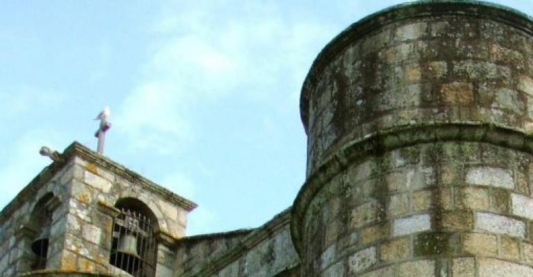 Fotografía de Orense: La Igleisa de la Santísima Trinidad