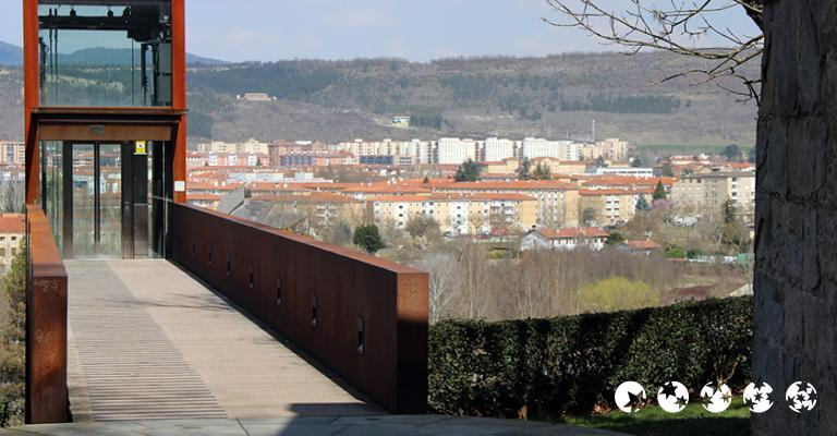 Foto von Pamplona: Ascensor