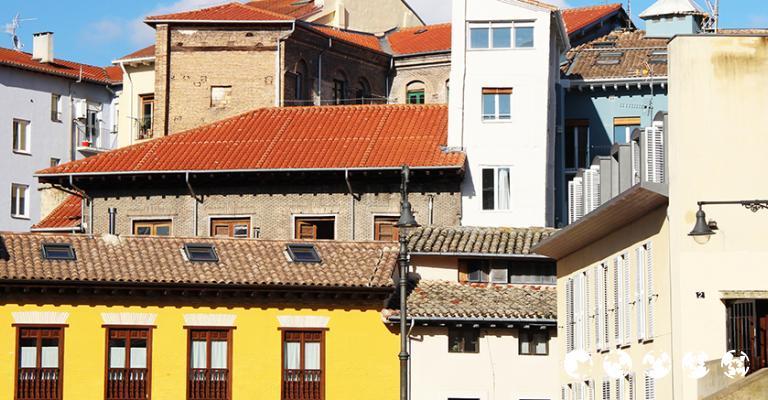 Foto von Pamplona: Casas de Pamplona