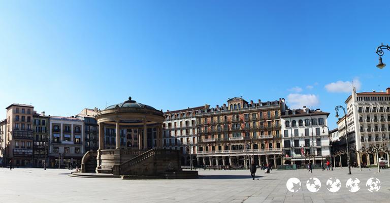 Foto von Pamplona: Plaza Castillo