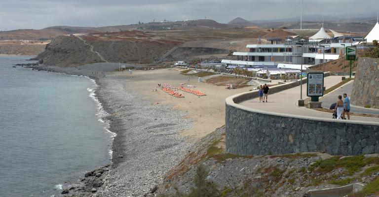 Foto : Playa de las Meloneras