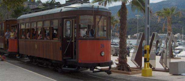 Fotografía de Port de Soller: El tren a Soller