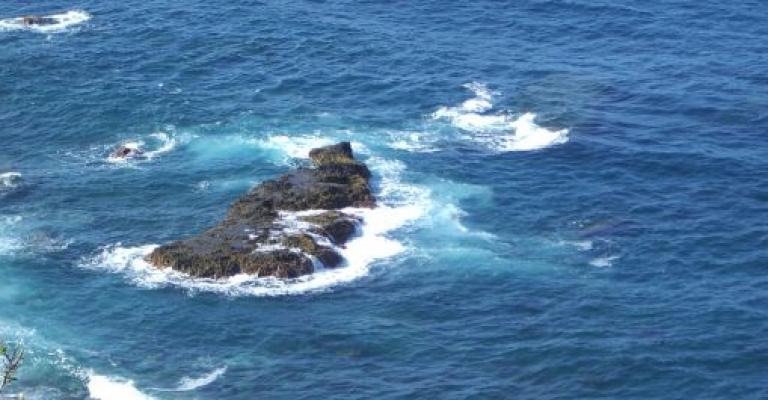 Photo : Vista del mar
