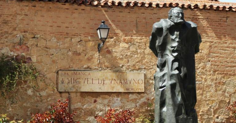 Fotografía de Salamanca: Miguel de Unamuno