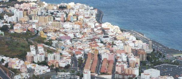 Fotografía de La Palma Insel: Vista sobre Santa Cruz de la Palma