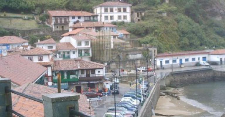 Photo : El barrio de San Roque de Tazones