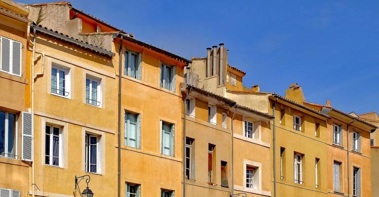 Foto von Bouches-du-Rhône: Aix-en-Provence fachadas
