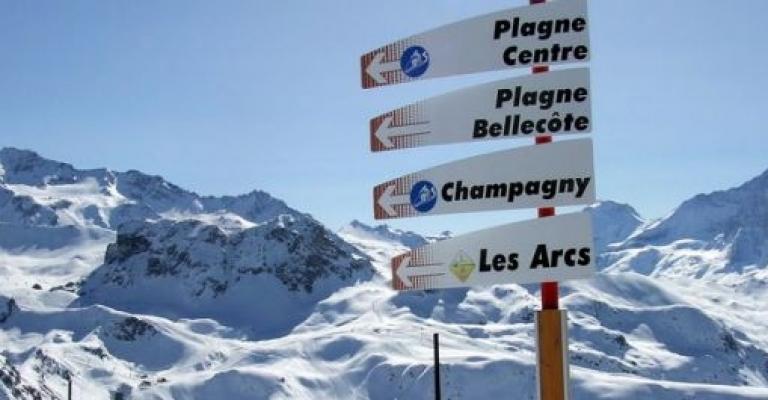 Picture : La Plagne en invierno