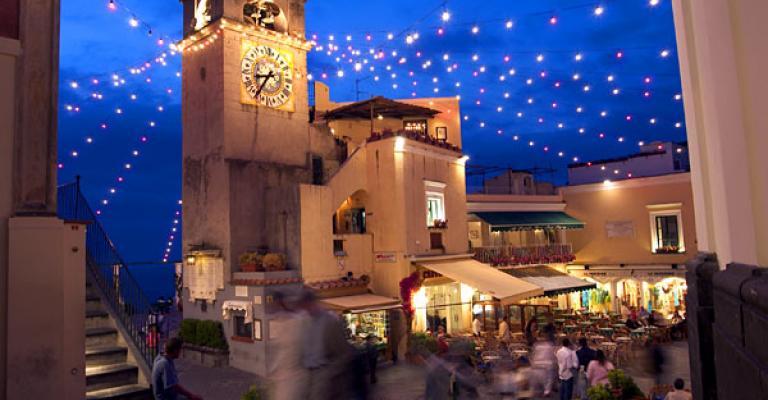 Foto Capri: Capri de noche