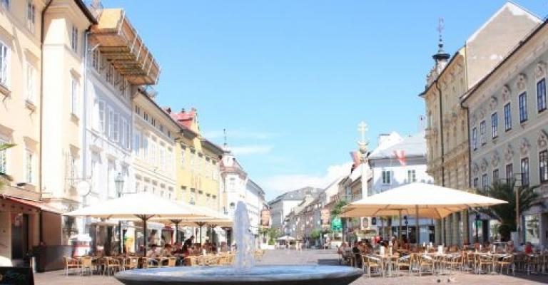 Foto von Kärnten: Fuente en Alter Platz