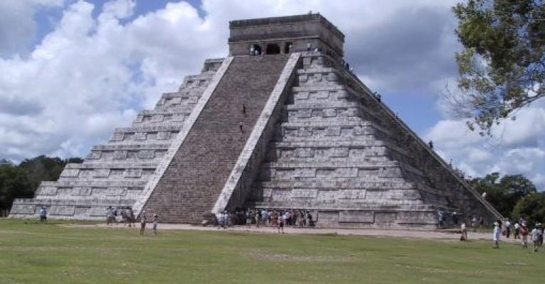 Fotografía de Yucatán: Piramide en Chichen Itza