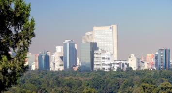Rascacielos de Mexico D.F.