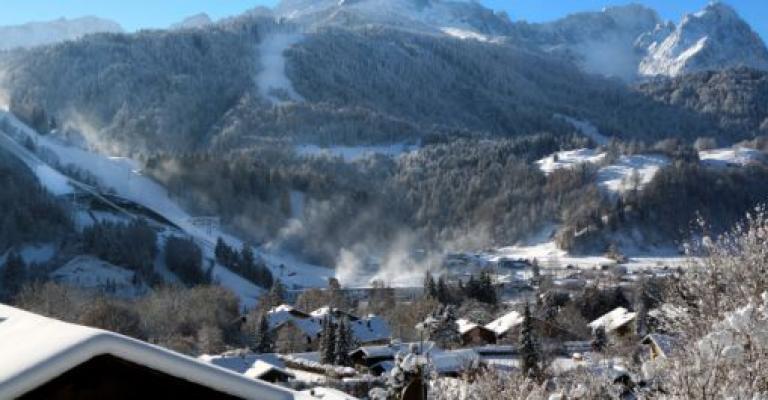 Foto Baviera: Garmisch-Partenkirchen en invierno