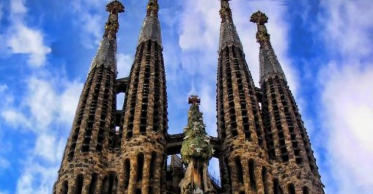 Fotografía de Barcelona: Imagen de la Sagrada Familia