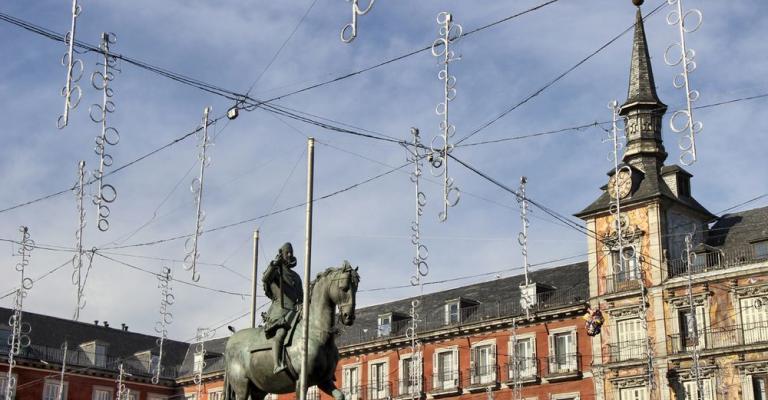 Foto von : Plaza Mayor Madrid