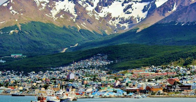 Fotografía de Tierra del Fuego, Antártida e Islas del Atlántico : Ushuaia pueblo