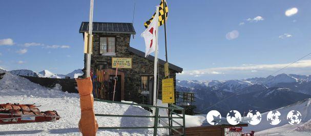 Fotografía de La Cortinada: Cafetería igloo en Vallnord