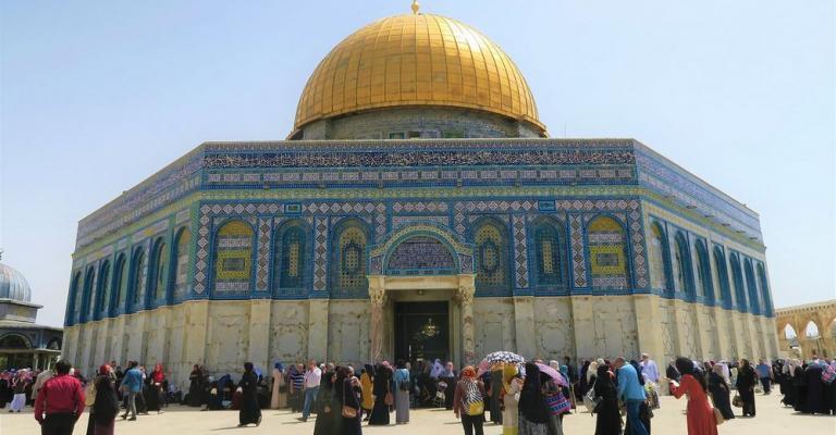 Fotografía de Jerusalén: Cúpula de la Roca - Explanada de las Mezquitas