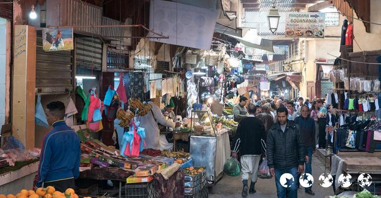 Fotografía de Fez-Bulmán: Fez - Medina Mercado