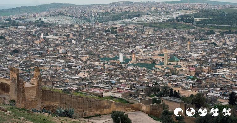 Fotografía de Fez-Bulmán: Fez - Mirador Les Merinides día