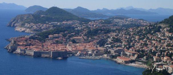 Fotografía de Croacia: Panorámica de Dubrovnik