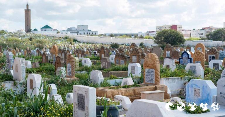 Fotografía de Rabat-Sale-Zemmour-Zaer: Rabat - Cementerio