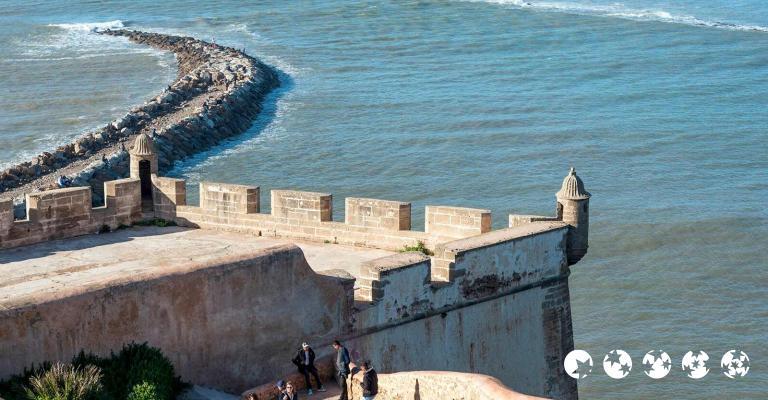 Fotografía de Rabat-Sale-Zemmour-Zaer: Rabat - Kasbah Udaya
