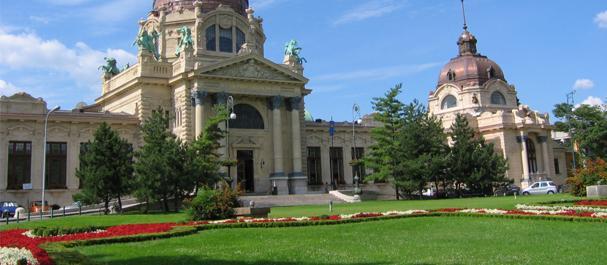 Fotografía de Hongrie: Budapest balneario szechenyi