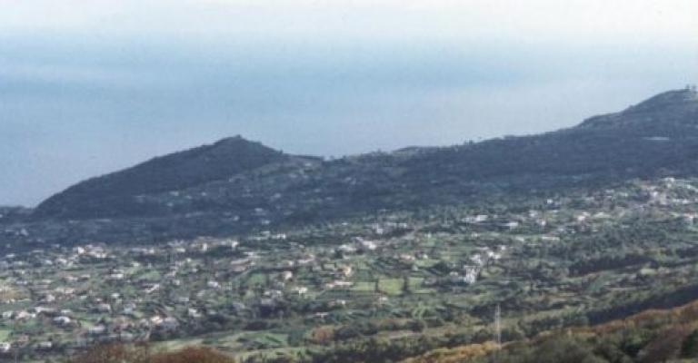 Fotografia de Ilha de La Palma: Vista sobre la Breña Baja