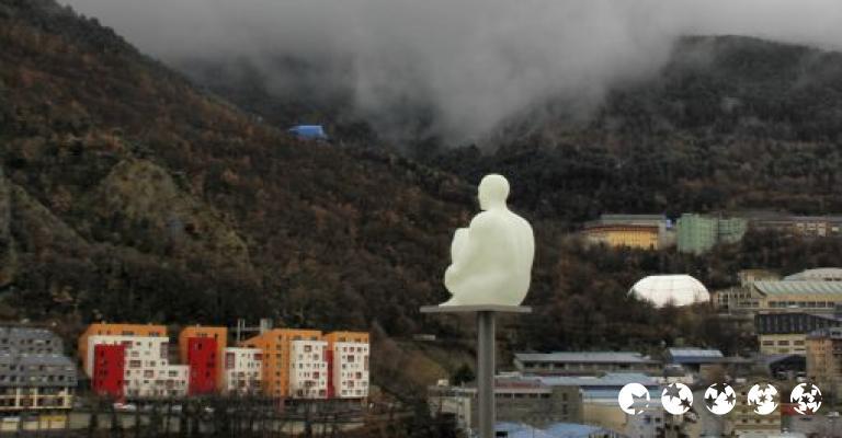 Photo Andorre-la-Vieille: Andorra la Vella, El Pensador