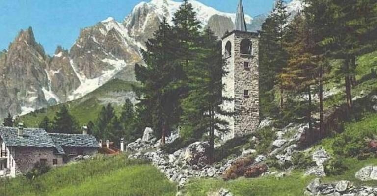 Foto Courmayeur: La iglesia de Planpincieux