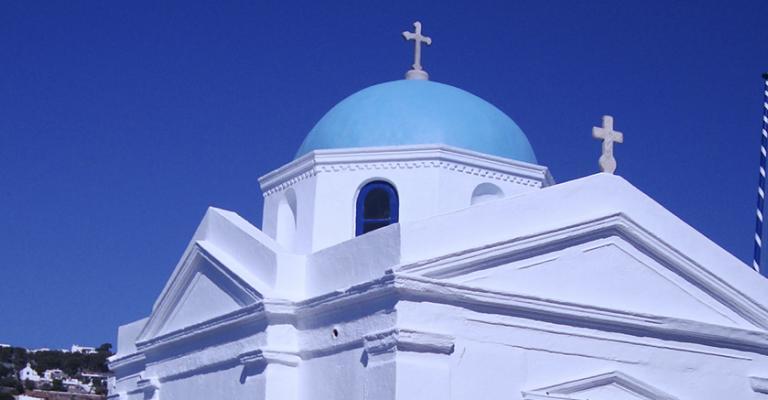 Foto von Tourlos: Mikonos isla