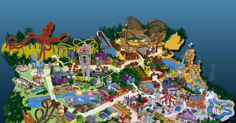 Picture : Mapa del parque