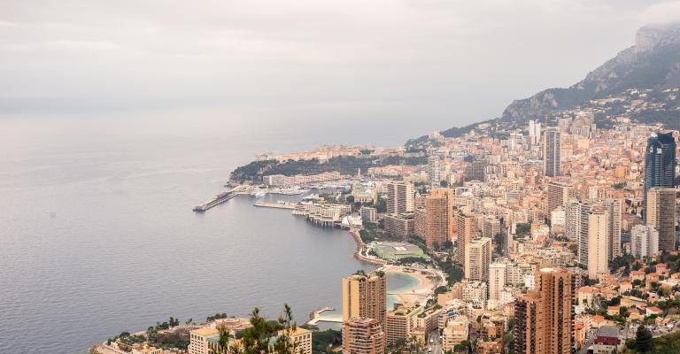 Foto von Monaco: Mónaco panorámica