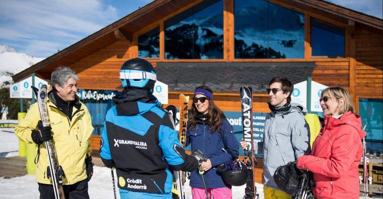 Fotografía de : Escuela de esquí de Grandvalira