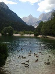 Paisaje de los Alpes eslovenos