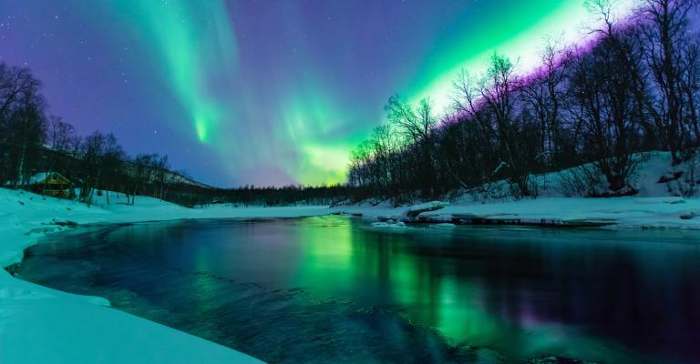 Foto von Alaska: Aurora Boreal