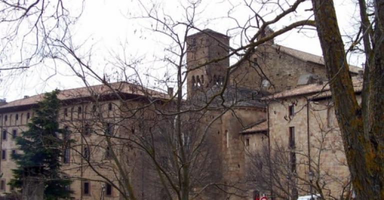 Foto von Navarra: Monasterio de Leyre