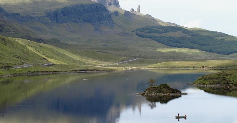 Fotografía de : Isla de Skye lago